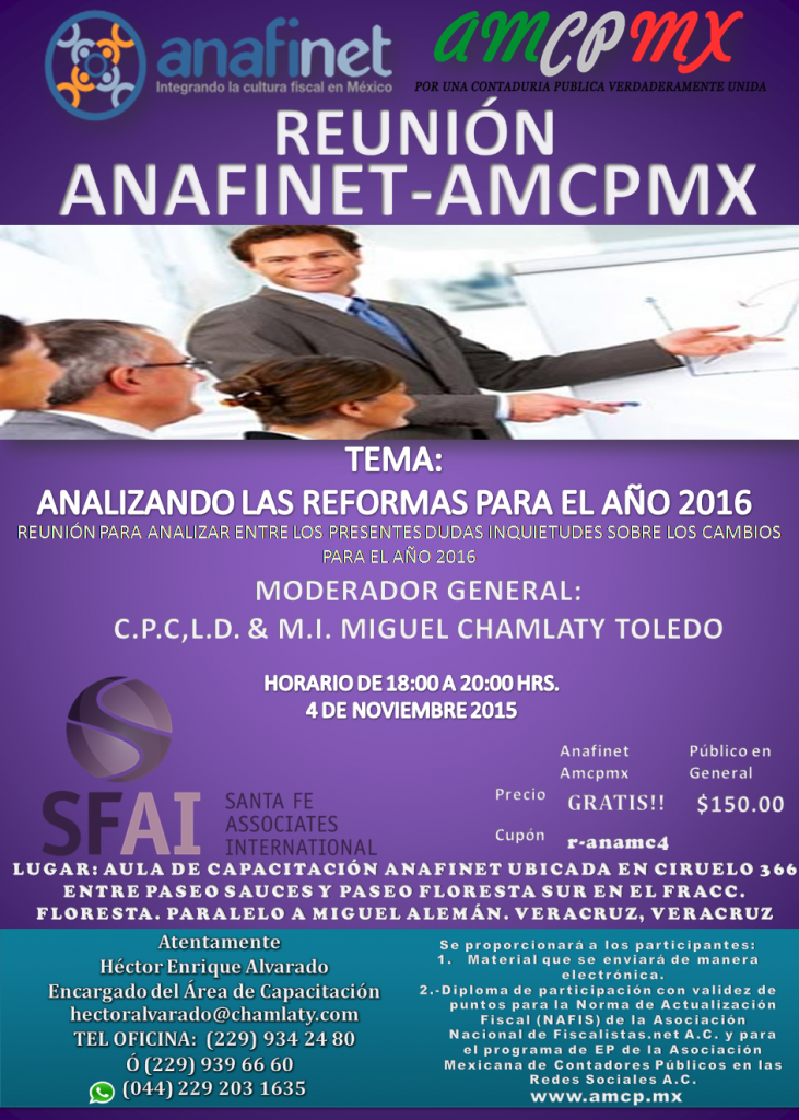 AMCPCRS - ANALISIS FUNDAMENTAL Y TECNICO 20/10/2015.