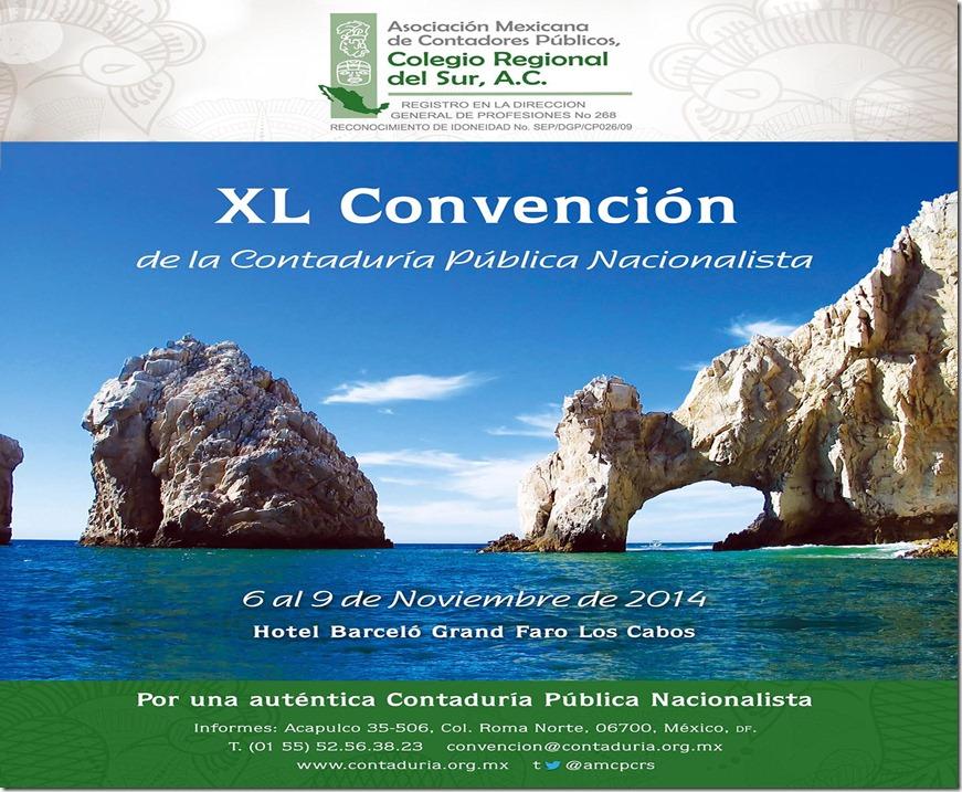 XL CONVENCION AMCPCRS NOVIEMBRE DE 2014.