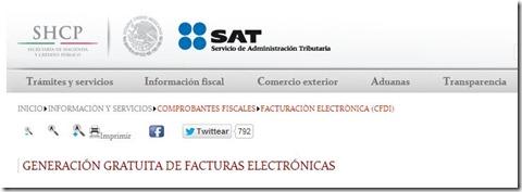 Conoce las condiciones generales para FACTURAR GRATIS en @SATMX e igual generar el CFDI NOMINA