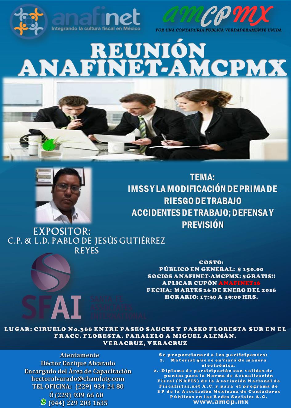 AMCPCRS - INFORMES Y CUMPLIMIENTO DE LA NEP 2015 - 12/01/2016