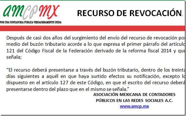 Breves sobre el RECURSO DE REVOCACIÓN.