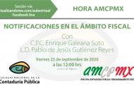 Hora AMCPMX: notificaciones en el ámbito fiscal